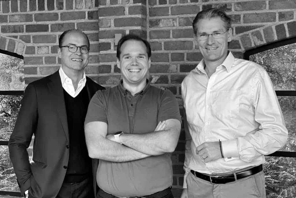 Gründer Alexander Wendeln, Johannes Rohde & Laurence Mehl (v.l.n.r)