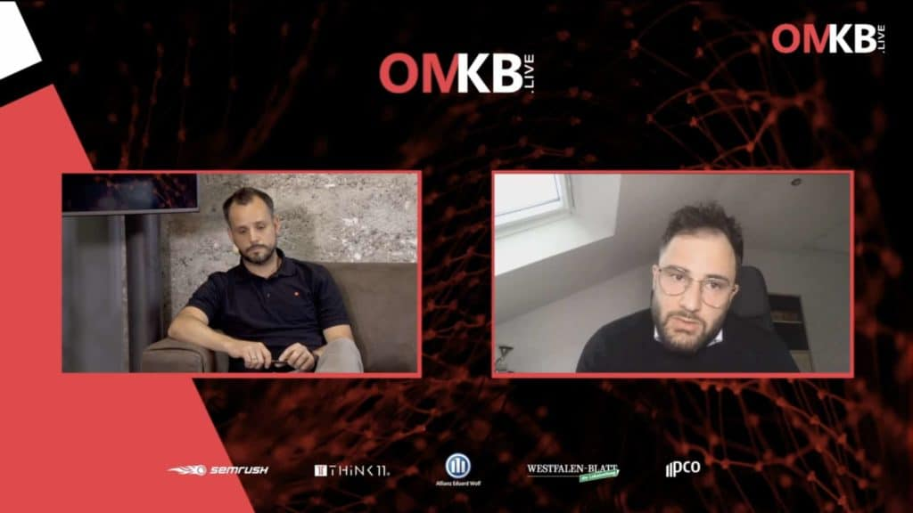Jonas Rashedi OMKB.live hosted by Think11