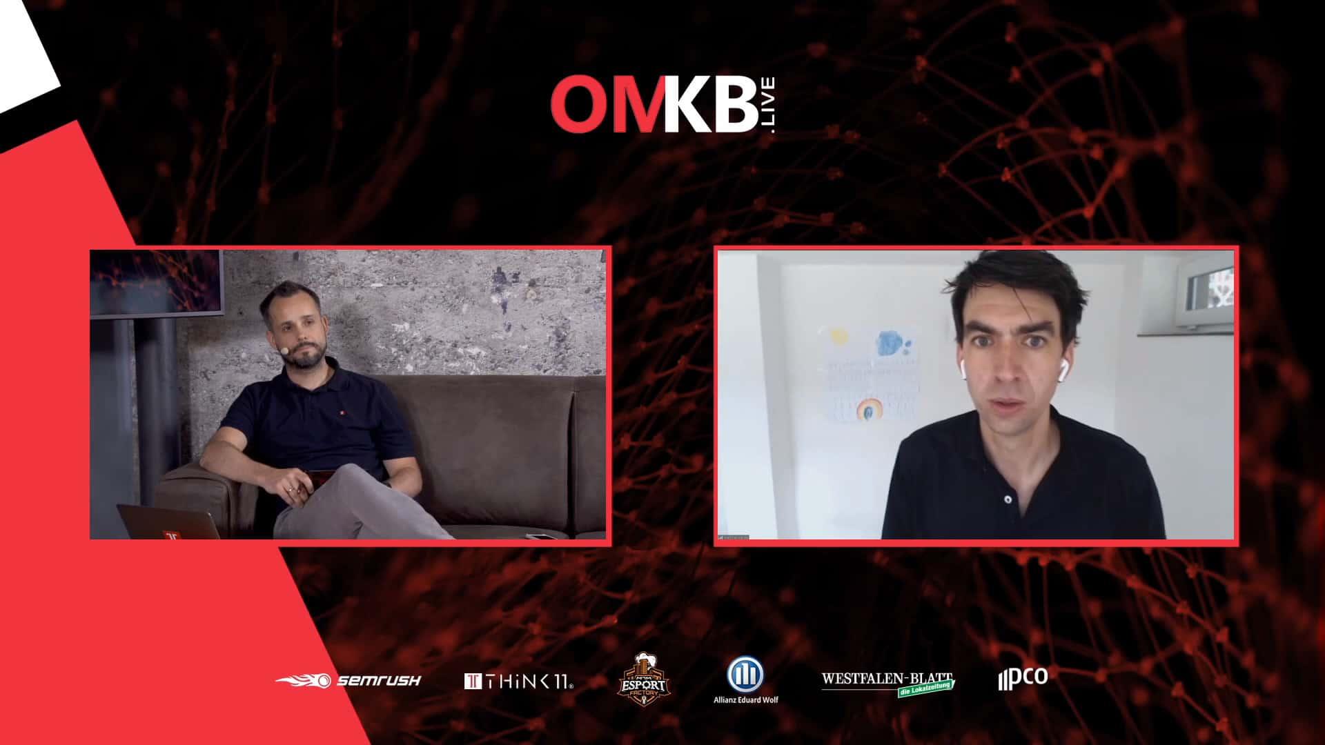 Matthias Henze, Jimdo – Von Kunden lernen! Inspirierende Unternehmer-Geschichten von Selbständigen in der Krise | Vortrag