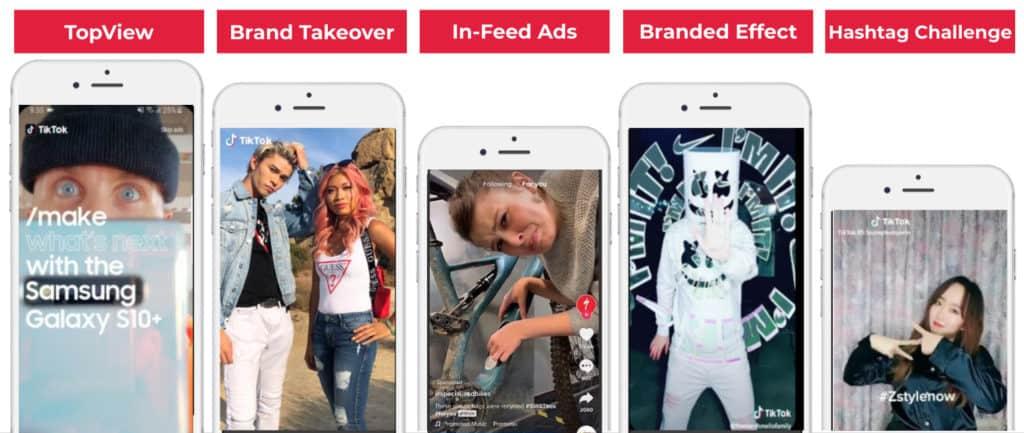 Überblick über die verschiedenen TikTok Werbeformate